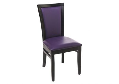 CHAISE DE RESTAURANT PURPLE