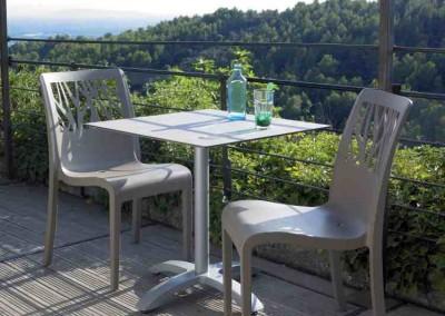 mobilier terrasse ambiance végétale