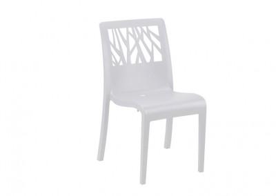 Chaise vegetal blanc