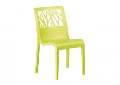 Chaise vegetal anis