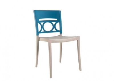 Chaise golf bleu