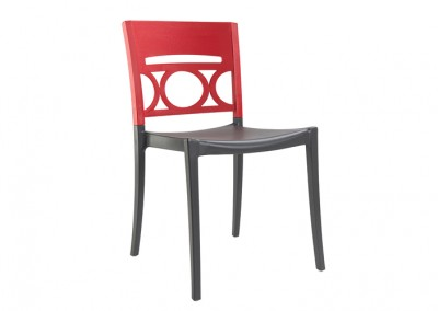 Chaise golf rouge