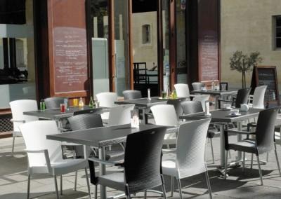 Ambiance terrasse de café