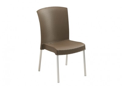 Chaise terrasse bronze