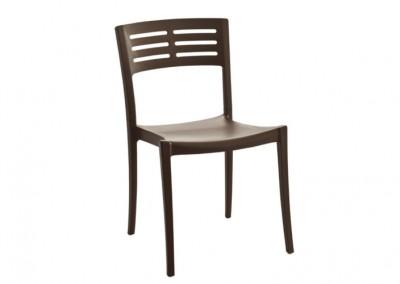 Chaise extérieure anthracite