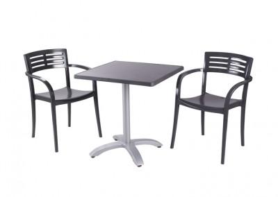 Fauteuil et table Eco