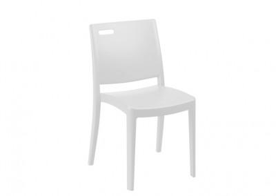 Chaise restauration blanche