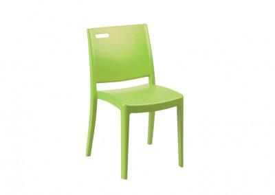 Chaise restauration verte