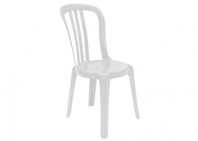 Chaise bistro blanche