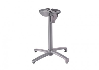 Pied de table  x-one gris