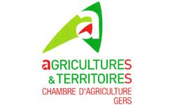 Logo de la chambre d'agriculture du gers