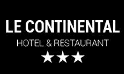 Logo de l'hotel-restaurant Le continental