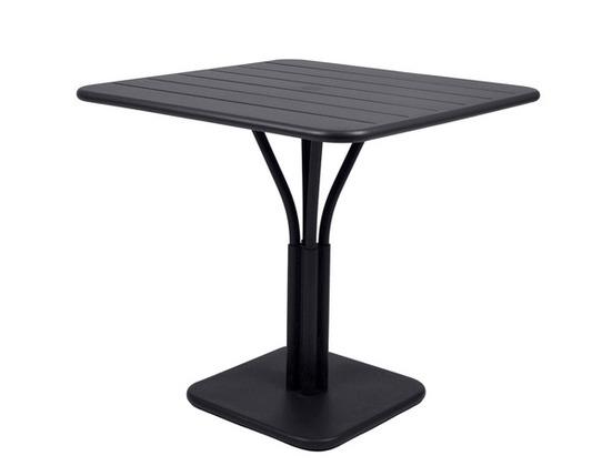 Chaise m tal l 39 art de vivre la fran aise mobilier chr for Table exterieur 80x80
