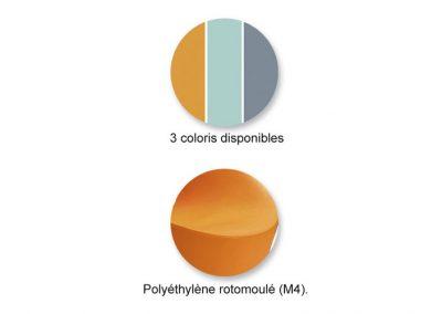 POUF D'ACCUEIL -Coloris