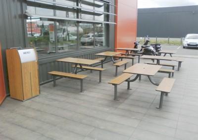 Mobilier restaurant pic-nic