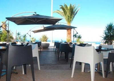 Mobilier terrasse restaurant