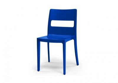 Chaise Eco bleu