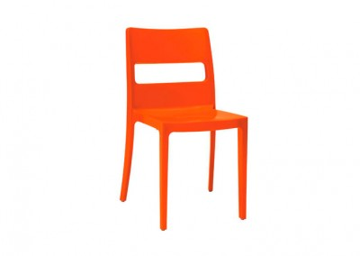 Chaise Eco orange