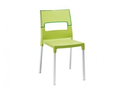 Chaise restaurant design vert
