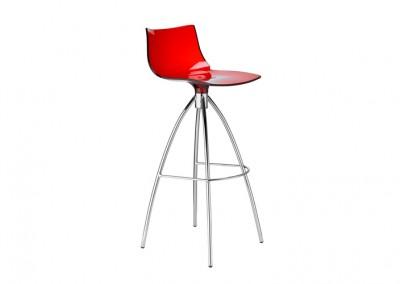 Tabouret restaurant design red