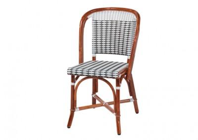 Chaise bistrot parisien rotin