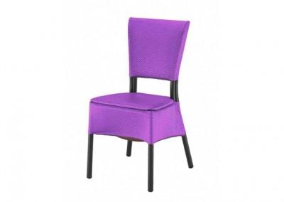 Chaise haut de gamme violet