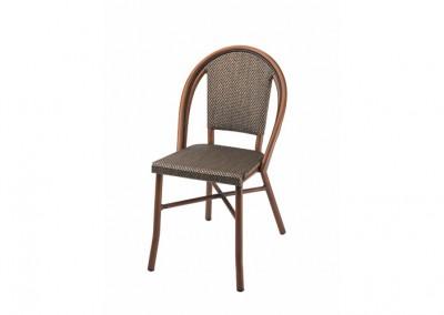 Chaise bistrot parisien noire