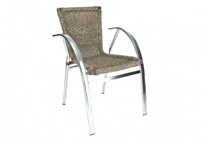Fauteuil terrasse bistrot reptile