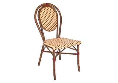 Chaise terrasse café bordeaux