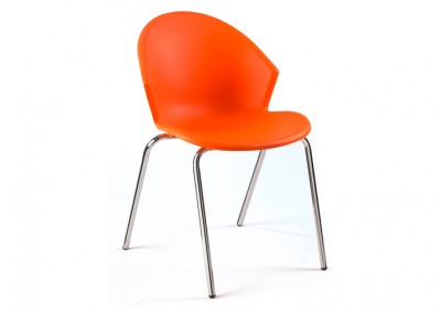 CHAISE ACCUEIL ORANGE