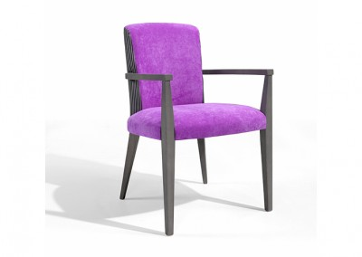 FAUTEUIL ACCOUDOIRS LILAS