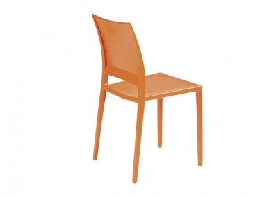 CHAISE TENDANCE LEGERE ORANGE