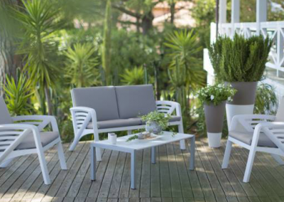 Mobilier terrasse lounge