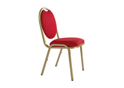 CHAISE MEDAILLON ROUGE